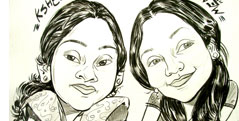 Black Ink Caricatures
